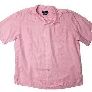 Polo Ralph Lauren Caldwell Silk Linen Shirt XL